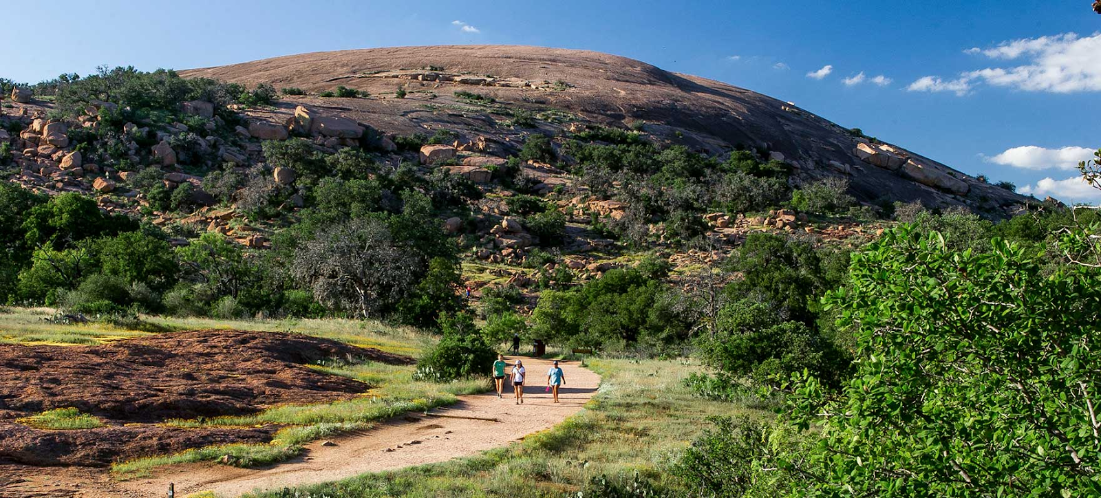 Enchanted Rock Landscape View